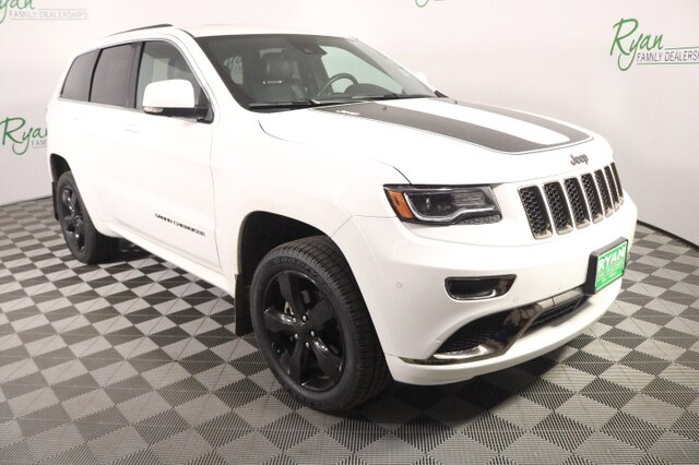 Jeep Grand Cherokee Overland >> Pre Owned 2016 Jeep Grand Cherokee Overland
