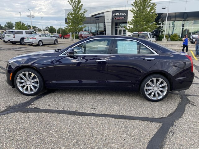 Pre-Owned 2018 Cadillac ATS 2.0L Turbo Luxury