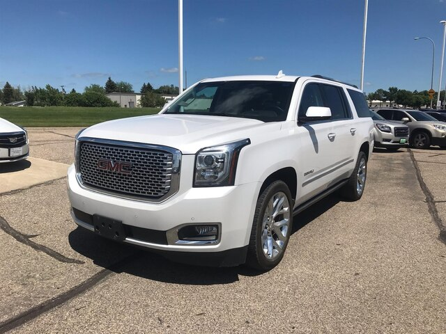 Gmc Yukon Xl Denali >> Pre Owned 2017 Gmc Yukon Xl Denali Suv In Williston 717401 Ryan