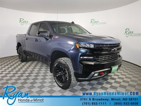Pre-Owned 2019 Chevrolet Silverado 1500 LT Trail Boss Z71